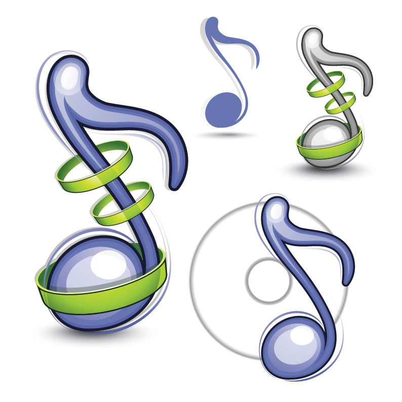 Music Note Vector Graphic