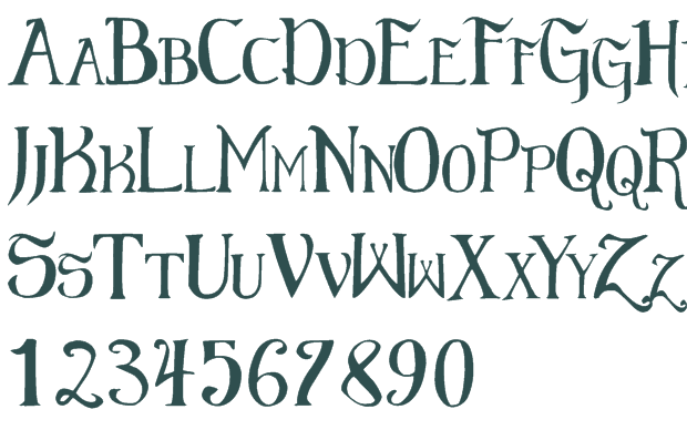 10 Gothic Fonts Free Download Images