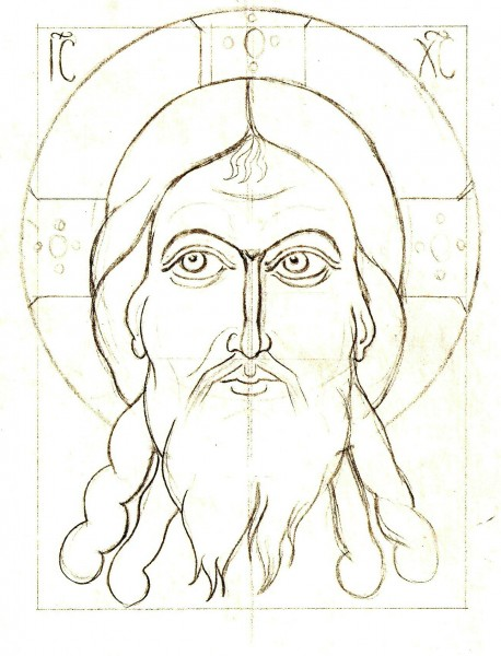 Line Drawing Icons : Drawing religious icon patterns images byzantine