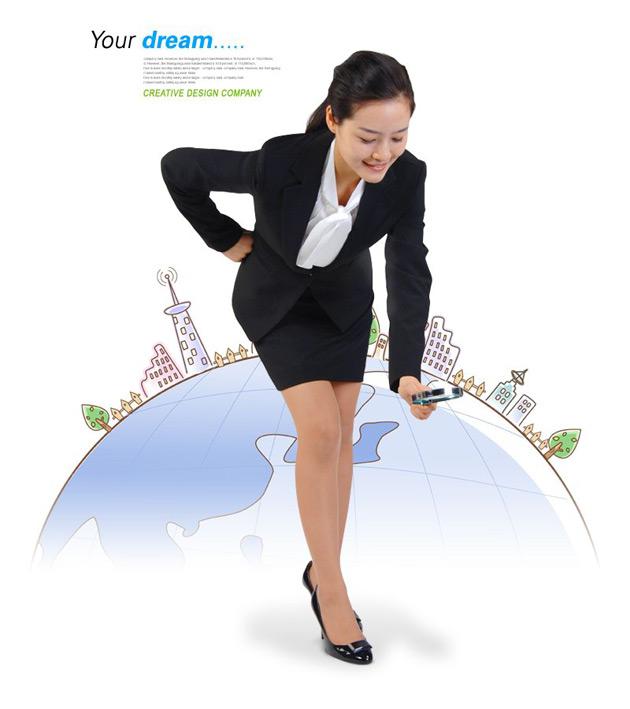 PSD Professional Women
