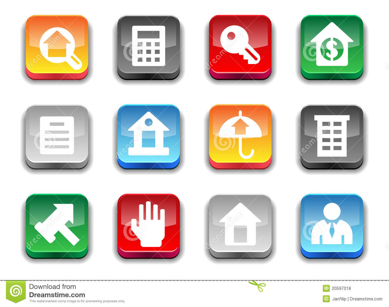 Real Estate Icons Free