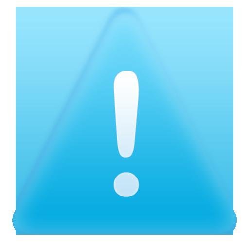 13 Blue Alert Icon Images