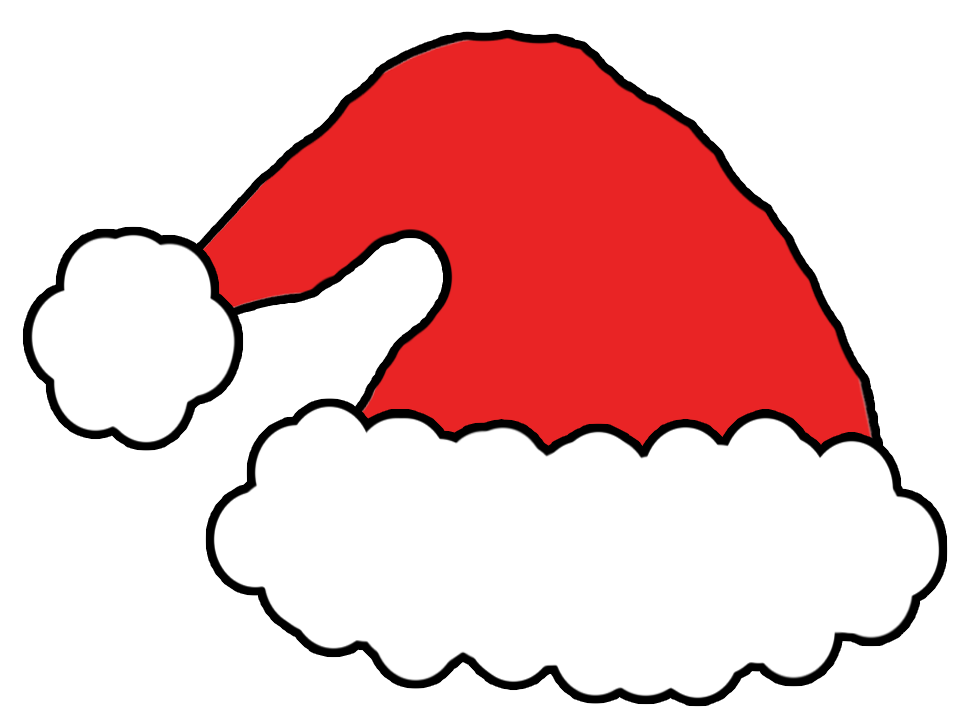 13 Santa Hat Template Images
