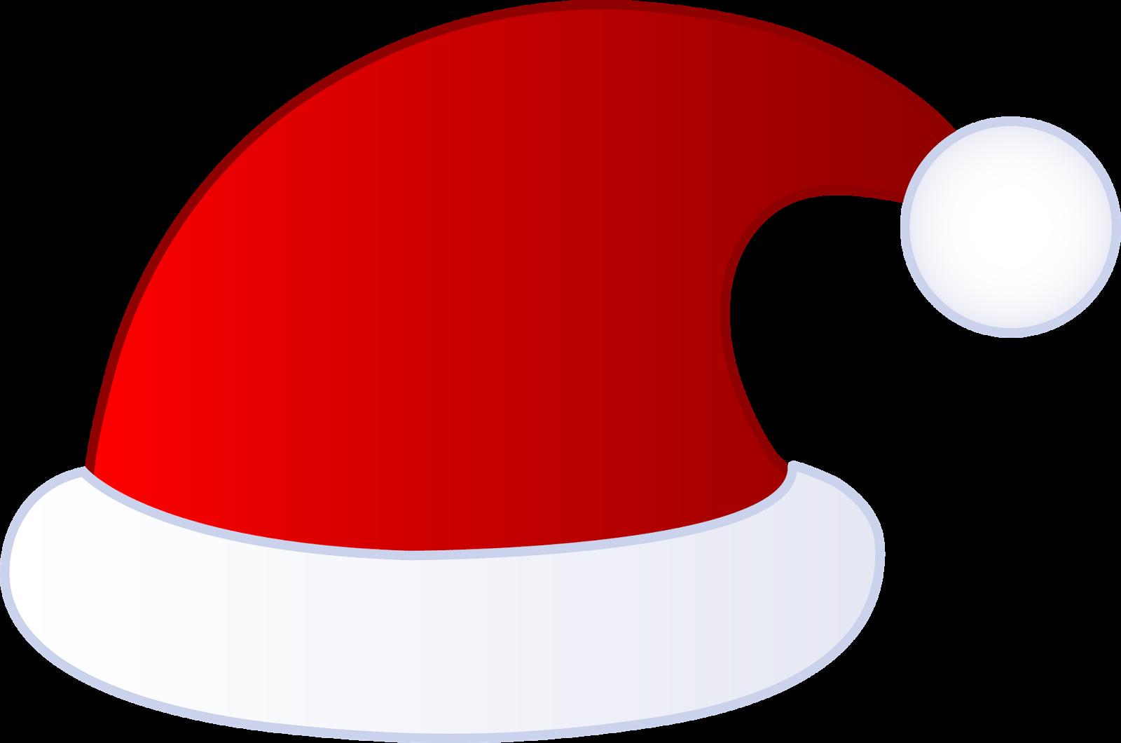 Santa hat template images clip art