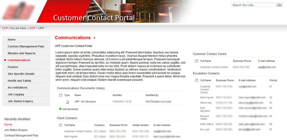 SharePoint Portfolio Management