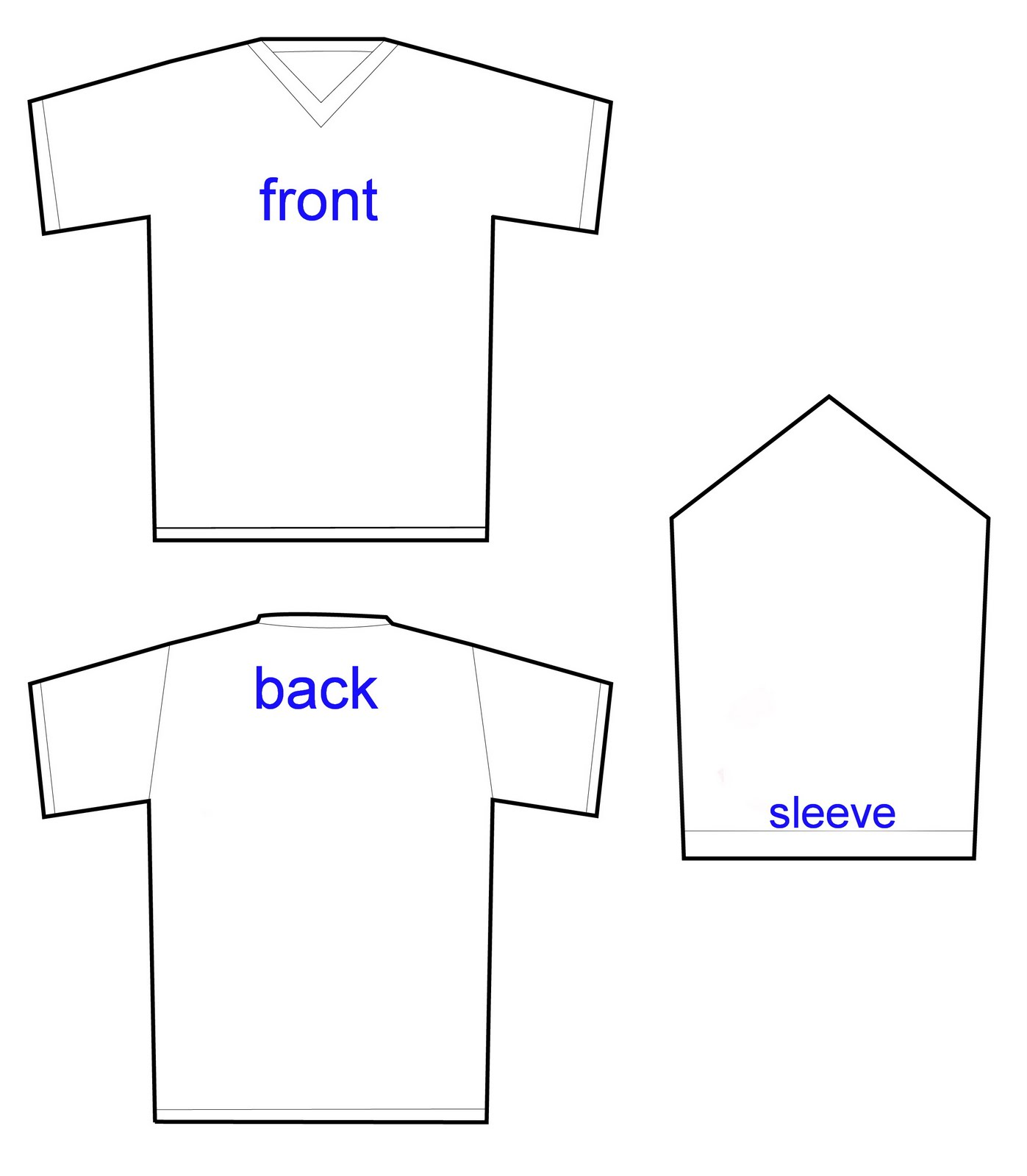 16 v t shirts designs templates images t shirt design template t shirt outline template and t. Black Bedroom Furniture Sets. Home Design Ideas