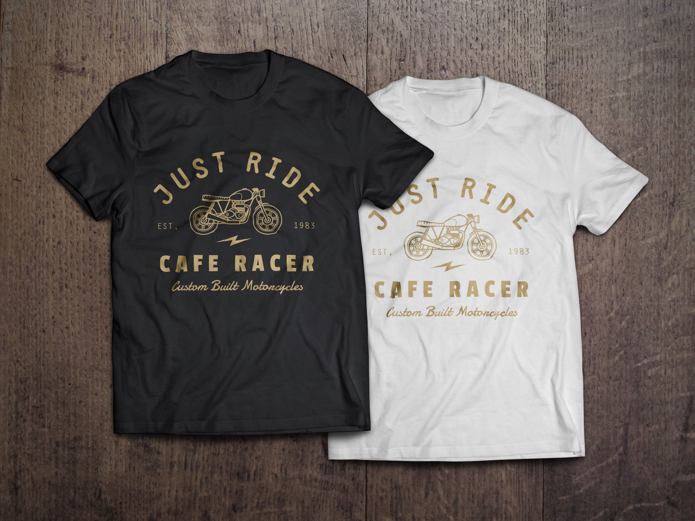 14 Black T-Shirt Mockup PSD Images