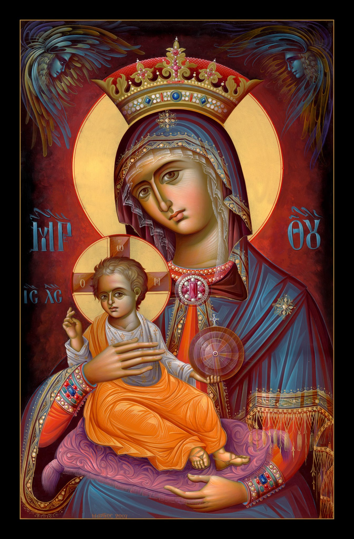 The Holy Virgin Mary Icons Russian