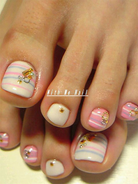 Toe Nail Art Designs for Beginners