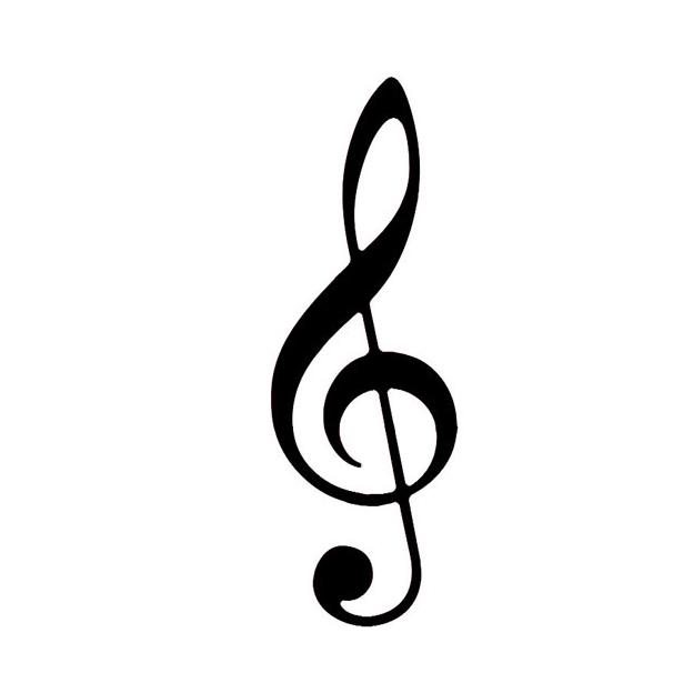 Treble Clef Music Symbols