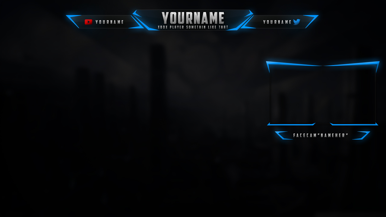 10 Twitch Overlay Template PSD Free Images - Twitch Stream ...