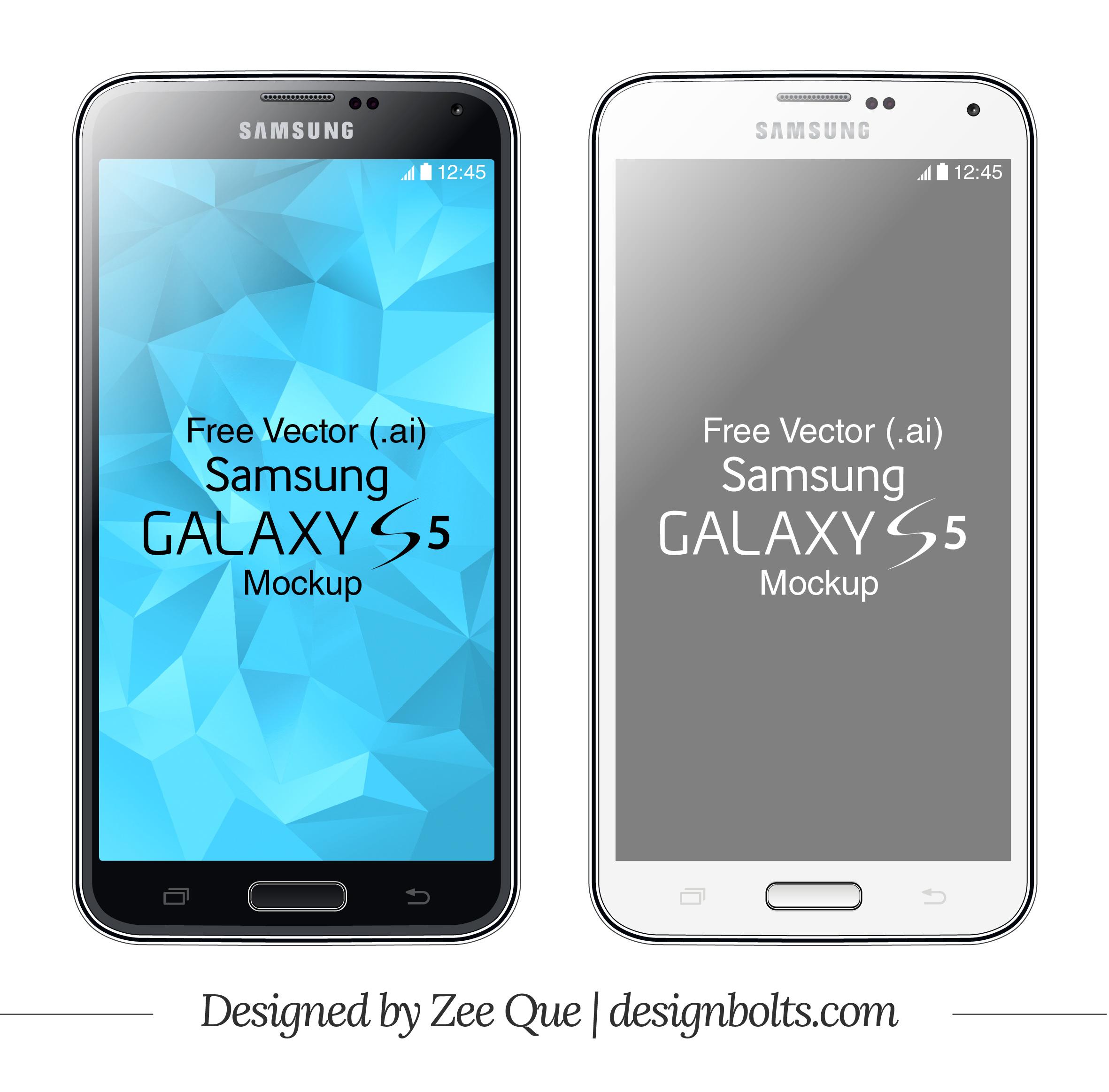 Vector Samsung Galaxy S5