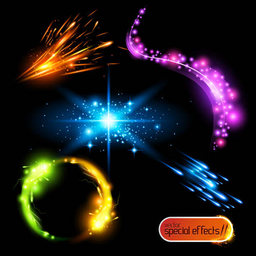 10 Vector Light Effect Images