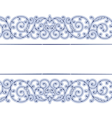 18 Vintage Lace Borders Vector Cross Images