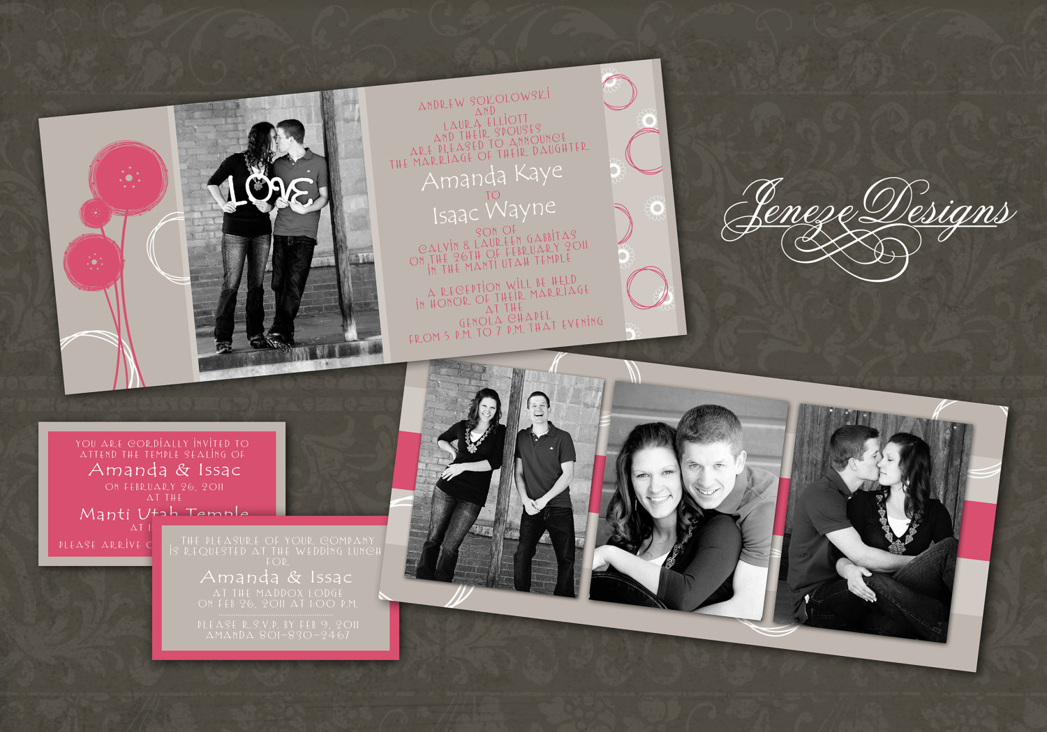 Wedding Invitation Templates Photoshop
