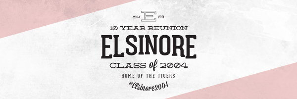 10 Year Class Reunion Logo