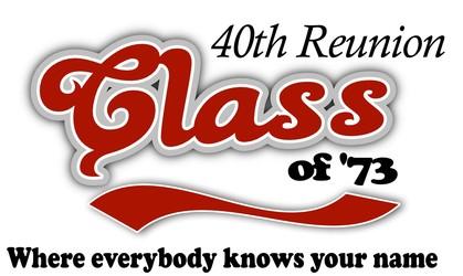 40th Class Reunion Logos