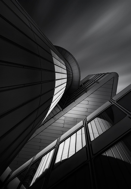 Abstract Black and White Architectural Photography