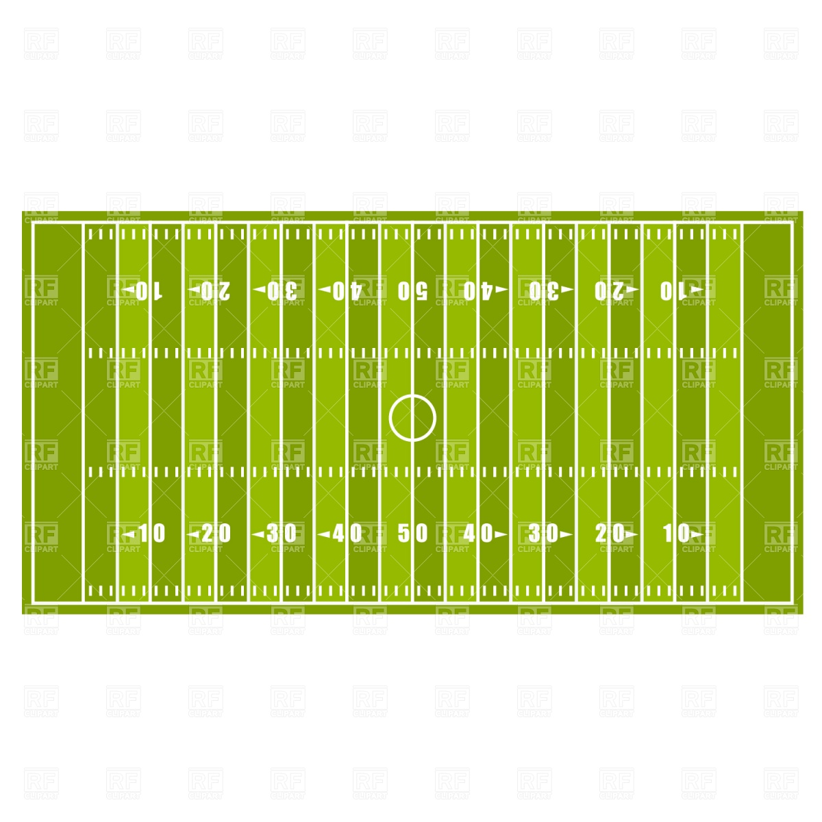 13 Vector American Football Field Images