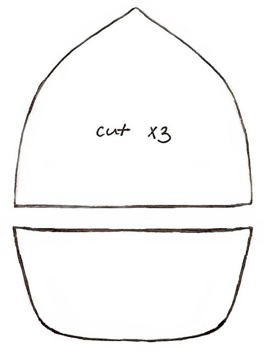 Baseball Cap Pattern Template