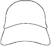 Baseball Cap Template Printable