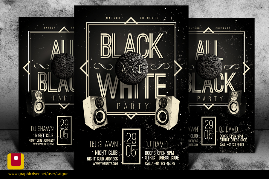 8 deviantart black and white psd images