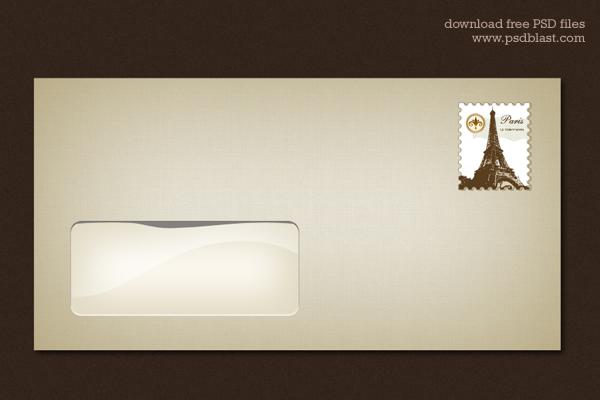 Blank Envelope Template