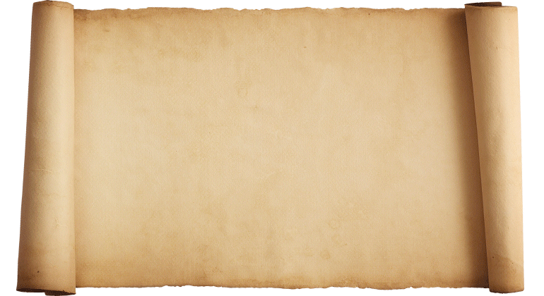 13 Parchment Scroll Template Images