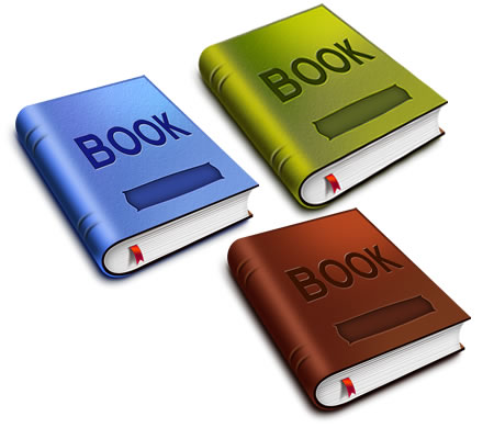 Book Icon PSD Download