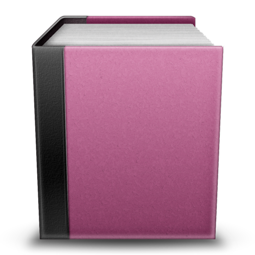 13 Pink Book Icon Images