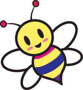 Cartoon Bumble Bee Clip Art