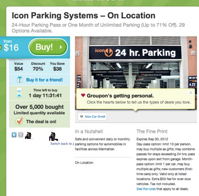 Central Parking NYC Discount Coupons