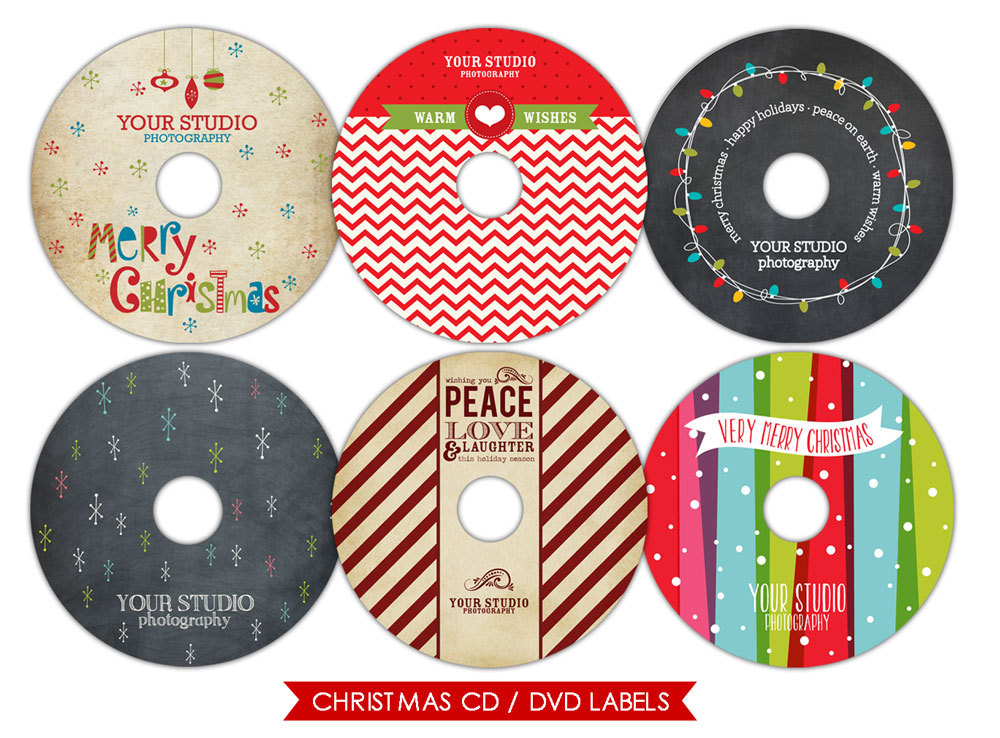 CD Label Template