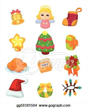 Cute Christmas Cartoon Clip Art