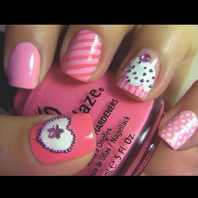 10 Cute Nail Designs Instagram Images
