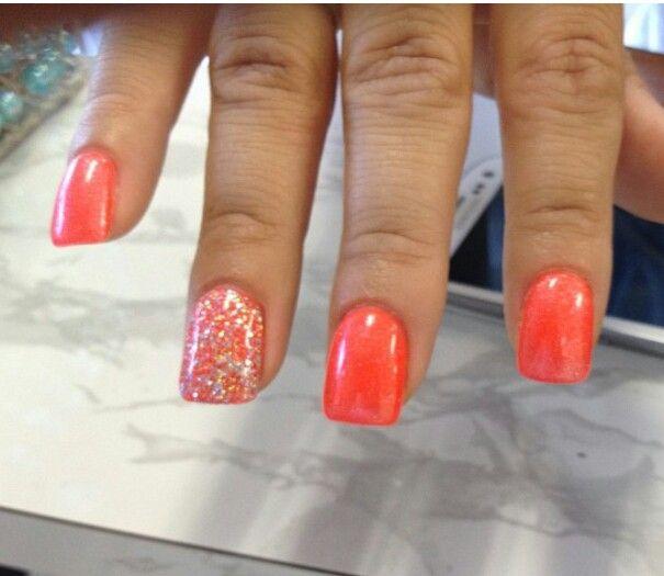 13 Orange Nail Designs Images Orange Nail Art Designs Orange Nail