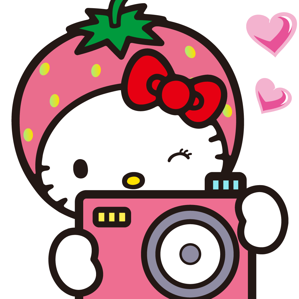 Cute Pink Camera Clip Art