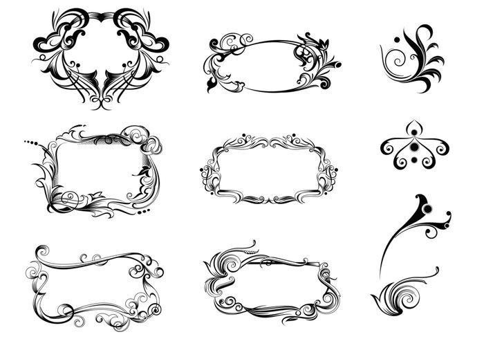 Decorative Ornaments Vector