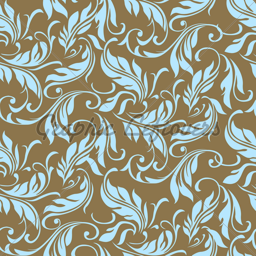 Feather Vector Pattern