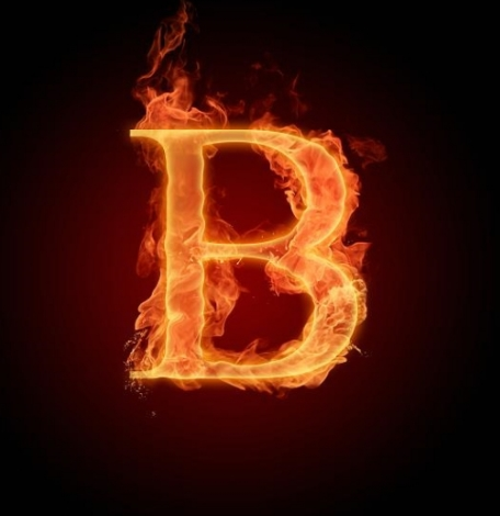 14 Download Fire Font PSD Images - Fire Text Effect Photoshop
