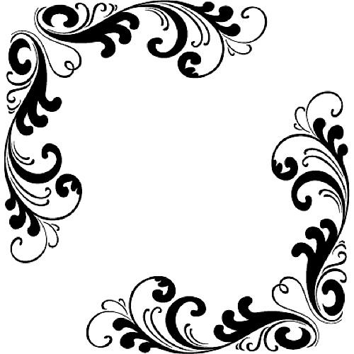 Free Corner Flourish Clip Art