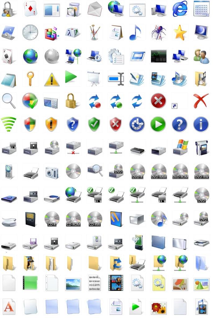 17 Microsoft Windows 7 Icons Images - Microsoft Windows 7 ...