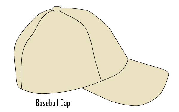 Free Vector Baseball Cap Template