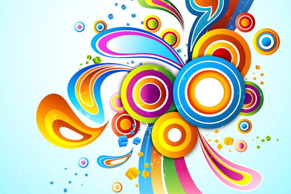 17 Free Vector Art Graphics Colors Images