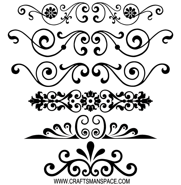 13 Free Decorative Vector Ornaments Images