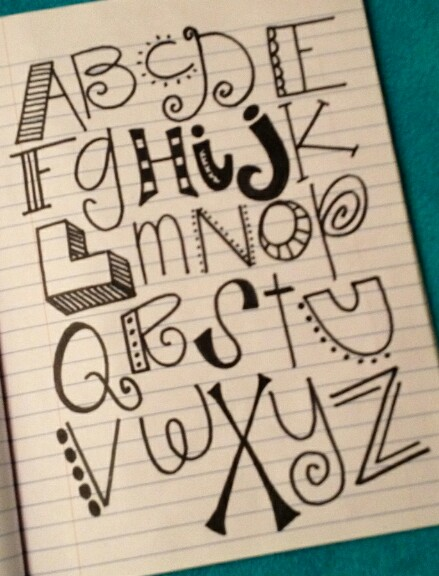 15 Easy Pretty Writing Fonts Images