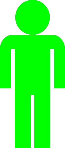 Green Man Symbol Clip Art