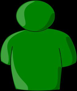 Green Person Clip Art