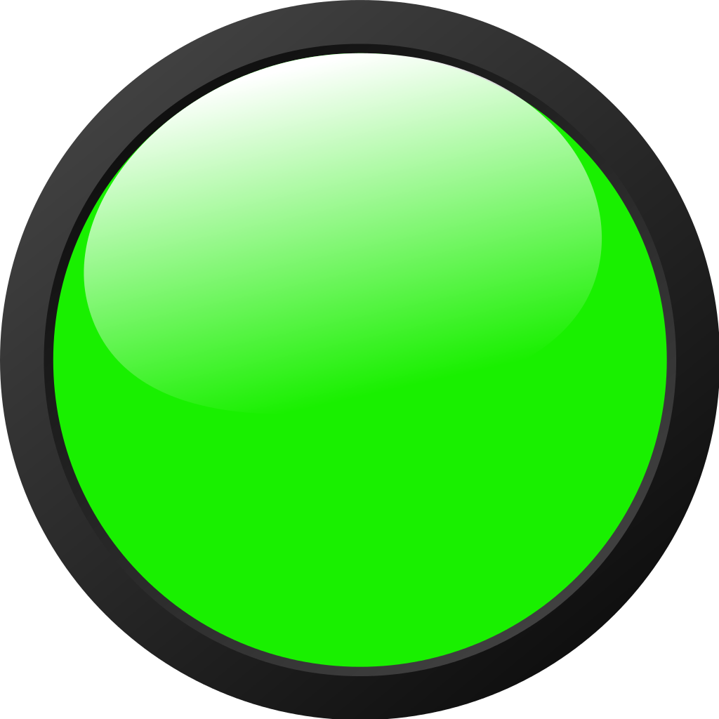 12 Green Light Icon Images