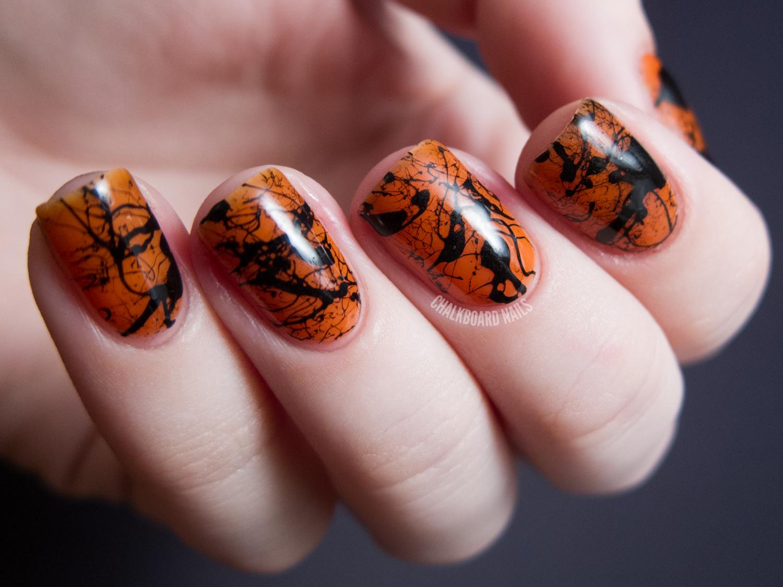 Halloween Nail Designs Short Nails